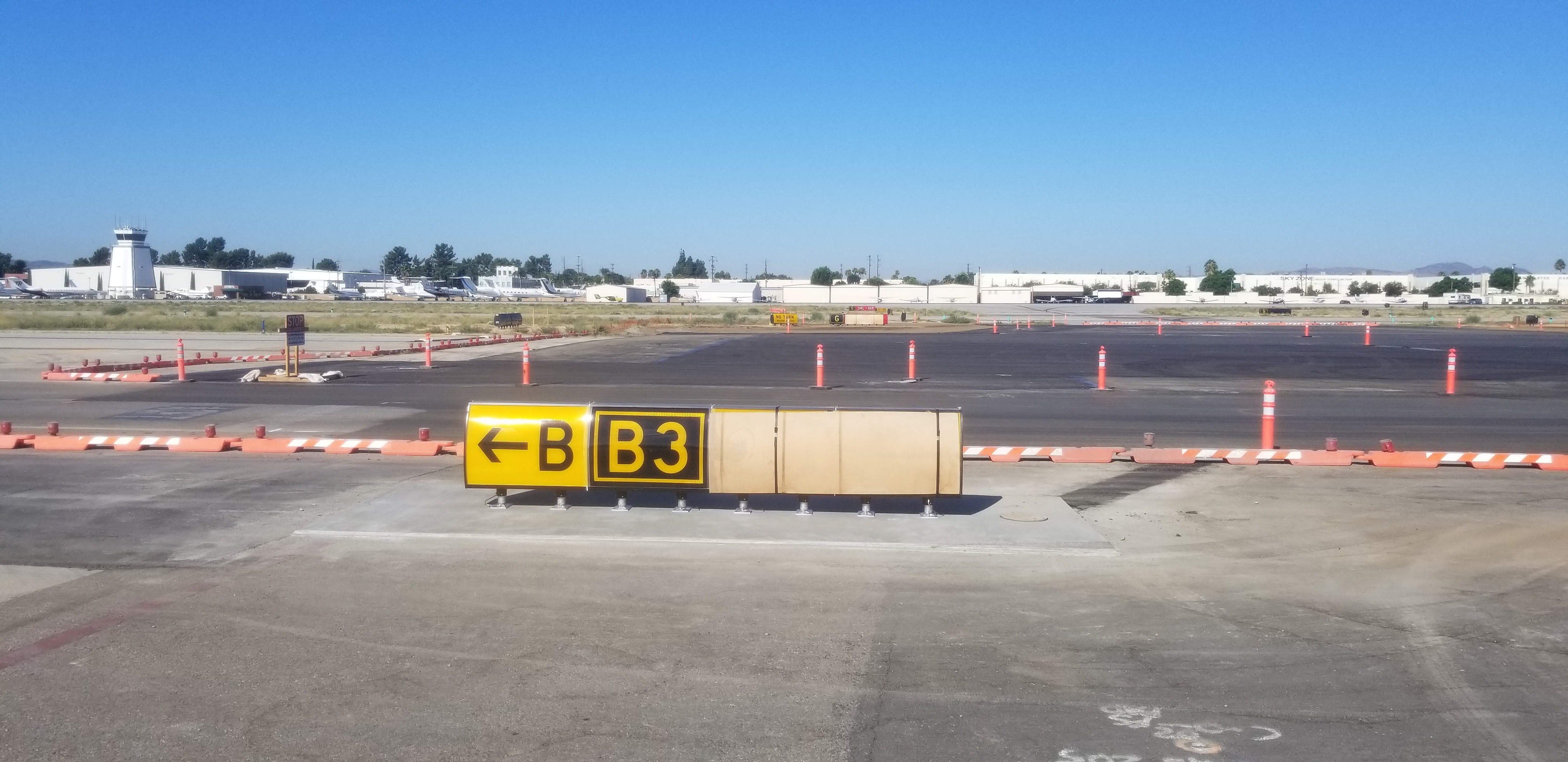 Taxiway B Project - Phase 6 - Week 9